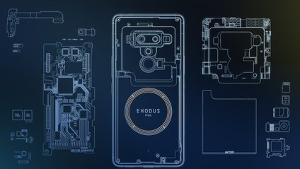 Новий смартфон HTC Exodus 1 - фото 1