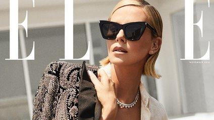 Розкішні жінки Голлівуду прикрасили новий Elle - фото 1