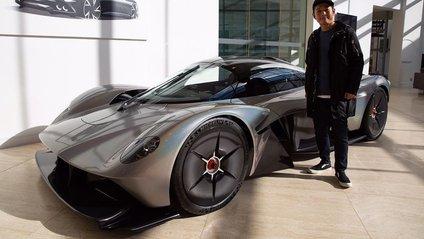 Розсекречено Aston Martin Valkyrie - фото 1
