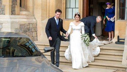 Королівське весілля: принцеса Євгенія вийшла заміж - фото 1