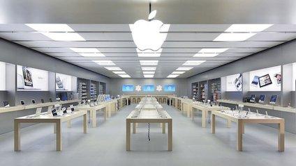iPhone задимів прямісінько в Apple Store - фото 1