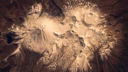 Вулкан Руапеху з орбіти - фото 1