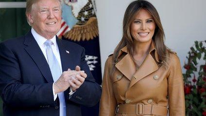 Трамп знову забув про свою дружину - фото 1