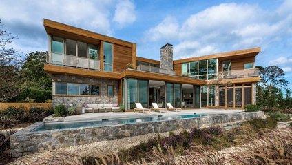 Стильний дім біля затоки у США - фото 1