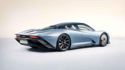 McLaren Speedtail – гіперкар з минулого - фото 1