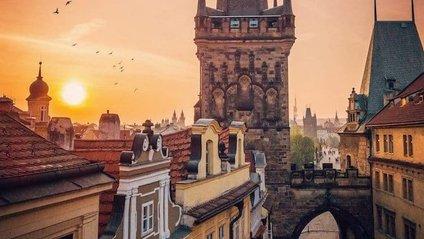 Ефектні пейзажі столиці Чехії - фото 1