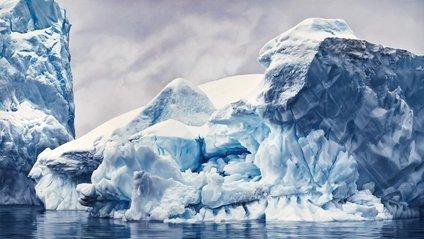 На відео можна побачити дійсно великі айсберги - фото 1