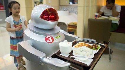 Робот-офіціант - фото 1