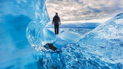 Мережу здивувало льодове поле: відеофакт - фото 1