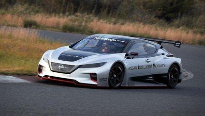Електричний спорткар Nissan Leaf - фото 1