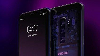 Сканер відбитків пальців вбудований в дисплей Samsung Galaxy S10 - фото 1