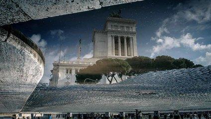 Як виглядає Рим у калюжах - фото 1