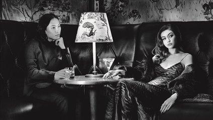Джіджі Хадід і Олександр Вонг для Pirelli - фото 1