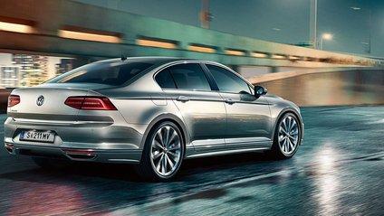 Volkswagen Passat показали на тизерних зображеннях - фото 1