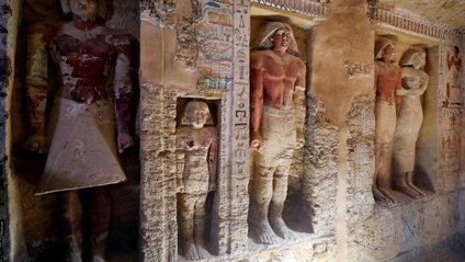 Незаймана гробниця Єгипту - фото 1