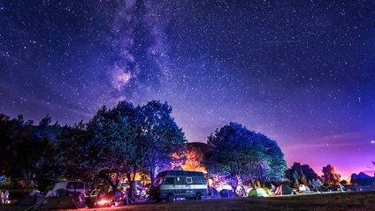 Нічне небо над Хорватією - фото 1
