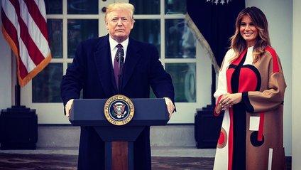 Дональд і Меланія Трампи - фото 1