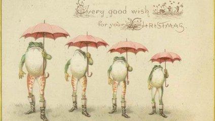 Перша різдвяна картка на продаж була створена сером Генрі Коулом - фото 1
