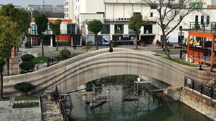 Надрукований міст у Шанхаї - фото 1