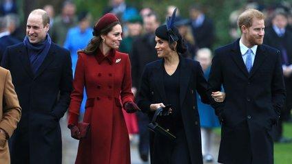 Кейт Міддлтон і Меган Маркл разом з принцами - фото 1