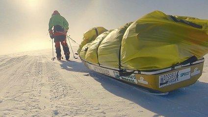 Американець пересік Антарктиду - фото 1