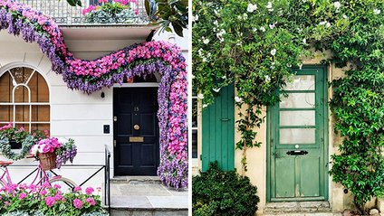 Найкрасивіші двері Лондона - фото 1
