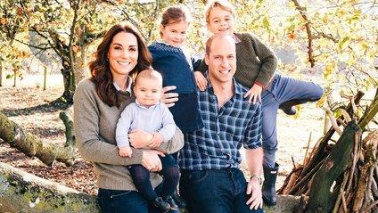 Кейт Міддлтон та принц Вільям з дітьми - фото 1