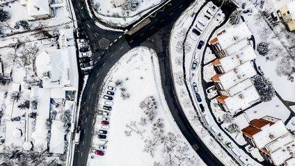 Зимовий Будапешт з висоти - фото 1