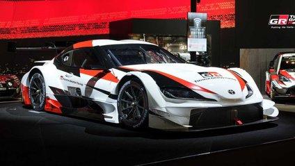 Потужна гоночна Toyota Supra Super GT - фото 1