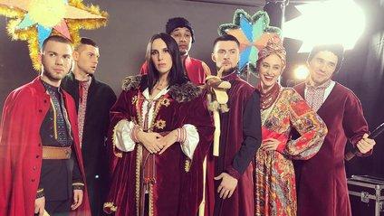 Українські зірки виконали колядку - фото 1