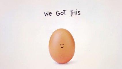 Яйце зібрало максимум лайків в Instagram - фото 1