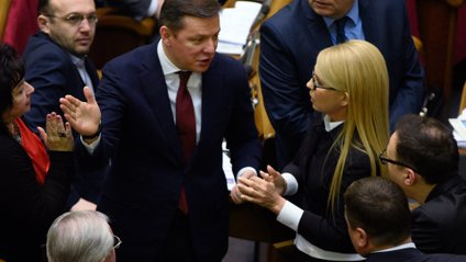 Юлія Тимошенко та Олег Ляшко очолили рейтинг брехунів - фото 1