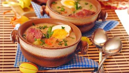 Як приготувати простий суп з ковбасою - фото 1