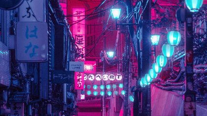 Футуристичні нічні фото Токіо - фото 1