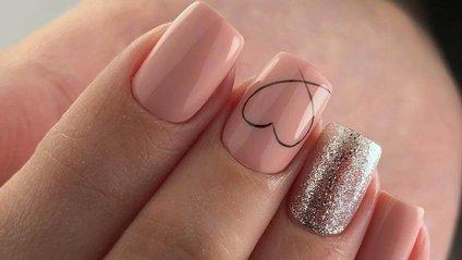 Красиві нігті до Дня святого Валентина - фото 1