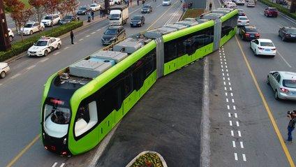 Електропоїзд з віртуальними рейками - фото 1