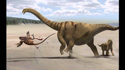 Знайдено скелет динозавтра гігантських розмірів - фото 1