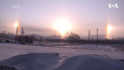 Потрійне сонце у Китаї - фото 1