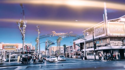 У Лас-Вегасі раптово засніжило - фото 1