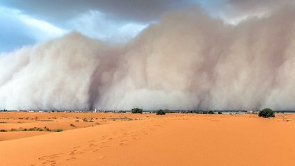 Піщана буря накрила Австралію - фото 1