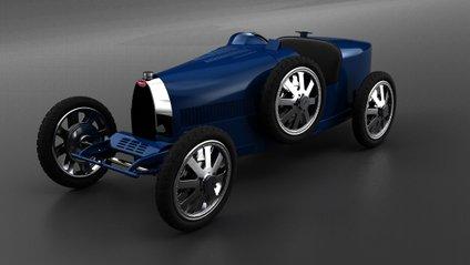 Дитячий Bugatti отримав електродвигун - фото 1