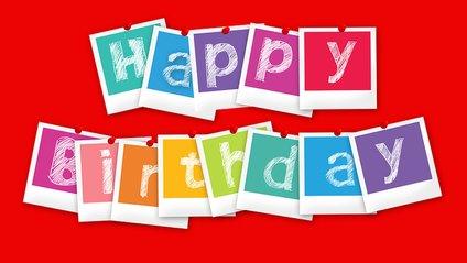 Вітання на день народження - фото 1