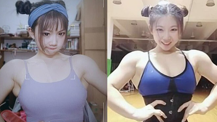 Юна китаянка вразила мережу своїми м'язами: фотофакт - фото 1