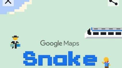 Як грати у змійку в Google - фото 1