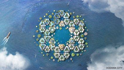 Архітектори працюють над створенням мегаполісів на воді - фото 1