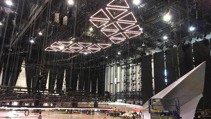 Почали монтувати сцену для Євробачення 2019 - фото 1