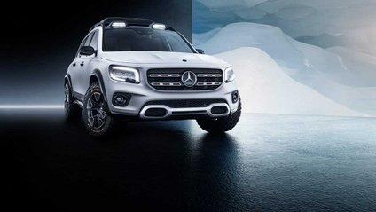 Mercedes-Benz показав кросовер Concept GLB - фото 1