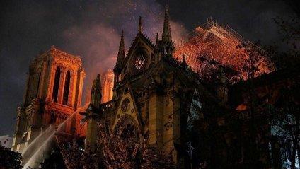 Як горів Собор Паризької Богоматері - фото 1