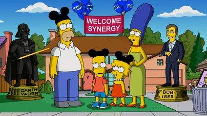 Реакція Сімпсонів на те, що їх купив Дісней - фото 1