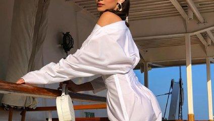 Белла Хадід похизувалась природною красою - фото 1